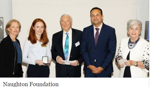Ruth Moriarty wins Naughton Scholarship