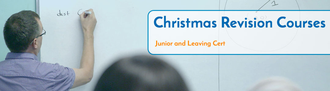 Christmas Revision Courses Cork